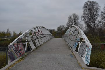 Willhelmsburger Kreativbrücke.