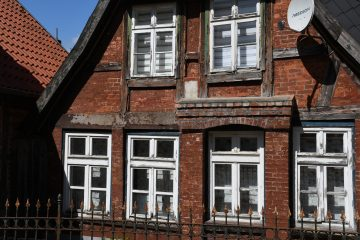 Wolfgang Scheffler - Mölln 26.05.2020 - Altes Wohnhaus