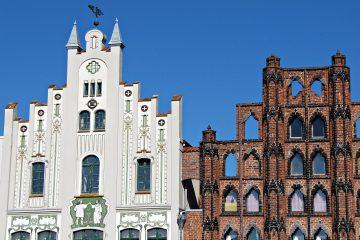 Interessante Architektur in Wismar.