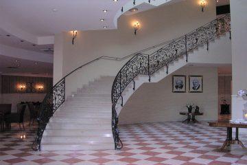 Foyer eines Hotels.