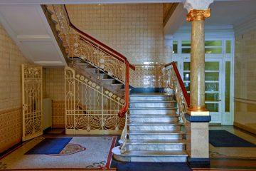 Treppenhaus Asia-Haus.