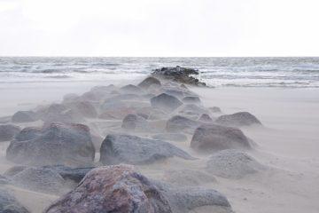 Blavandstrand in Dänemark.