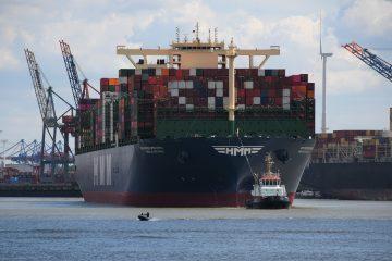 Wolfgang Scheffler - Exkursion Hafen HMM Algeciras 10.06.2020 - Groß, größer am grössten