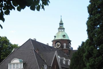 Marlies Heinsohn - Leinpfad 12.07.2020 - Turm von St. Johannes