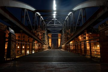 Hans Stötera - Speicherstadt 19.08.2020 - Kibbelstegbrücke
