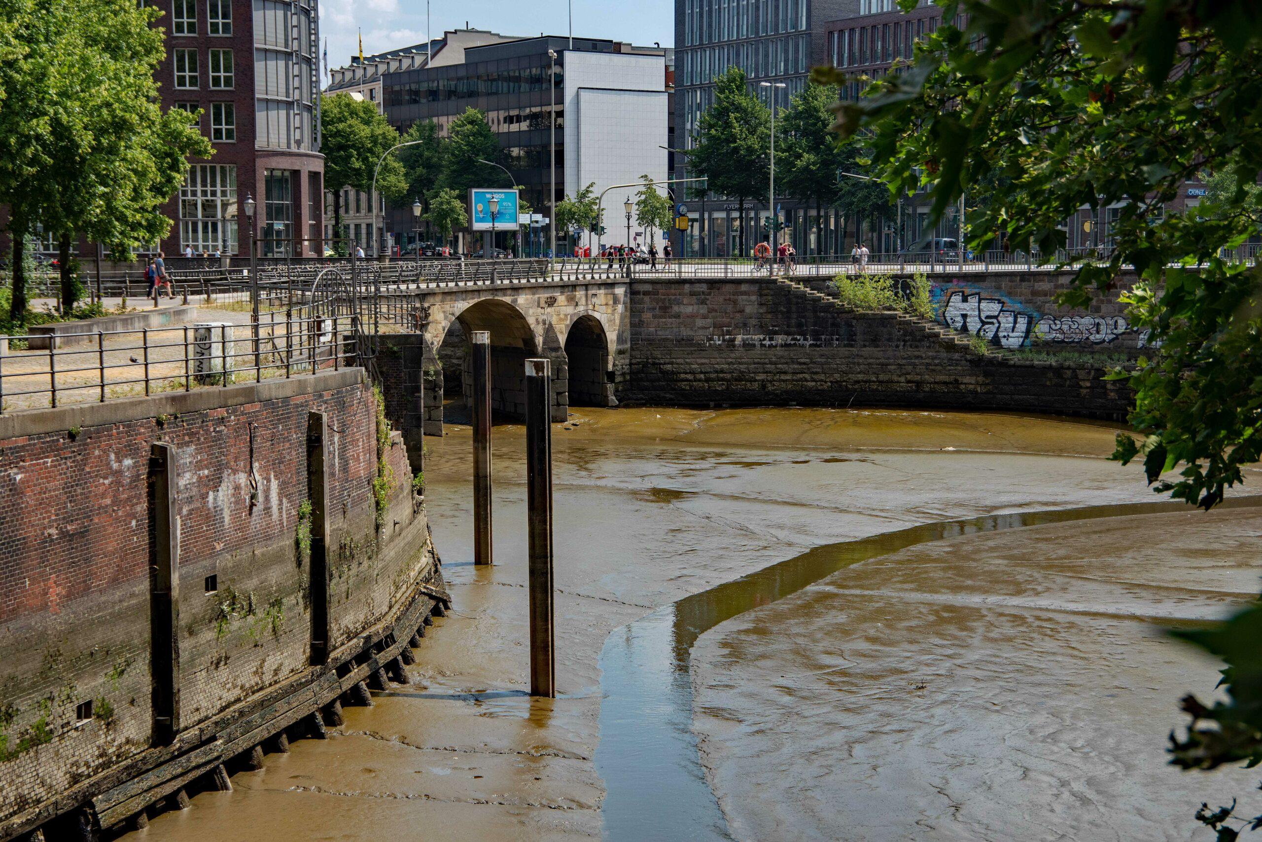 Hans Stötera - Fleete Tour 25.07.2021 - Nicolaifleet ohne Wasser