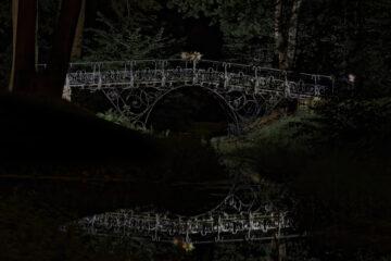 Bodo Jarren - Eiserne Brücke Ohlsdorfer Friedhof 17.09.2021 - Ohlsdorfer Friedhof Fußgängerbrücke Südteich