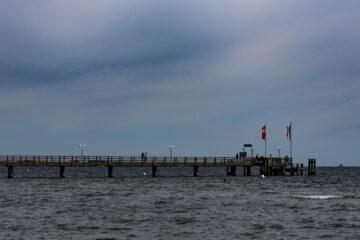 Ute - Haffkrug 24.08.2021 - Seebrücke in Haffkrug