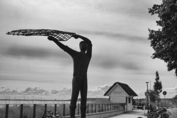 Ute - Haffkrug 24.08.2021 - Der Fischer und sein Netz