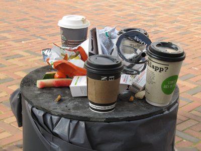 Marlies Heinsohn - Challenge 33: 23.08 - 05.09.2021 - Hier liegt der Müll nicht in der Tonne, sondern auf der Tonne