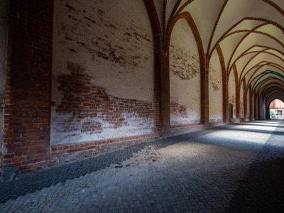 Kreuzgang Schweriner Dom