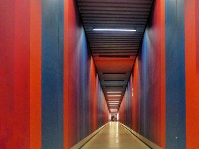 Susanne Wahl - Challenge 34: 06.09 - 19.09.2021 - Red Power ~ Fußgängertunnel Basel