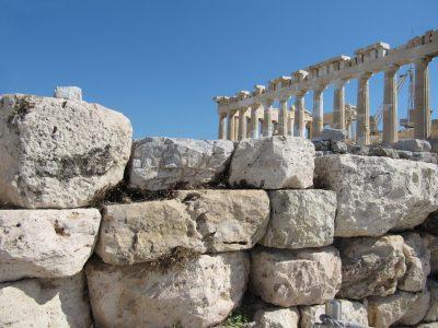 Marlies Heinsohn - Challenge 29: 28.06 - 11.07.2021 - Steine auf der Akropolis in Athen